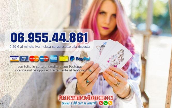 Cartomanzia con carta di credito e Postepay